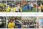사진:새빛 식구들의 5월 24일 서울시 장애인 복지시설체육대회 행사 참여